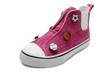 Speedster-Pink Sparkle w/sports (Girl: Toddler, Little Kid, Big Kid)