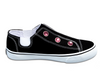 Dash • Black W/Rhinestones Color Options (Youth Sizes: 10Y-3Y)