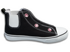 Speedster • Black W/Rhinestones (Youth Sizes: 10Y-3Y)
