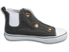 Speedster • Charcoal Sparkle W/Rhinestones (Youth Sizes: 10Y-3Y)