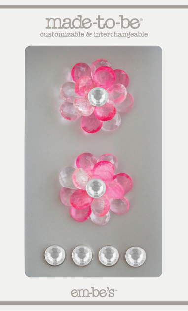 Crystal Bloom Set - Pink