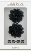 Tulle Floret Box Set - Black