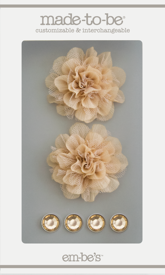 Tulle Floret Box Set - Gold