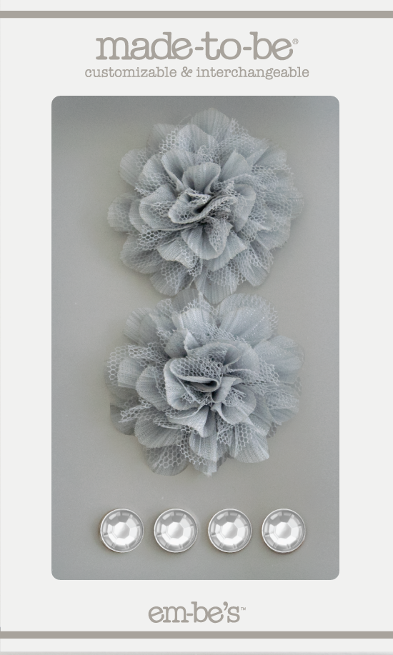 Tulle Floret Box Set - Silver