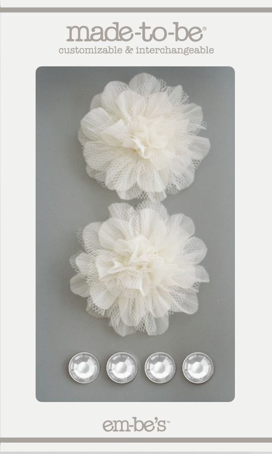 Tulle Floret Box Set - Off White