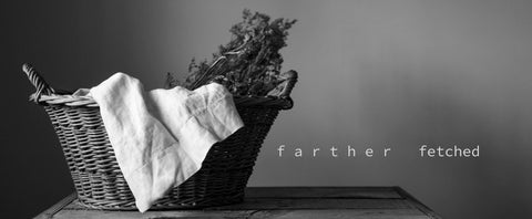 fartherfetched hand made and vintage home goods is now open for business