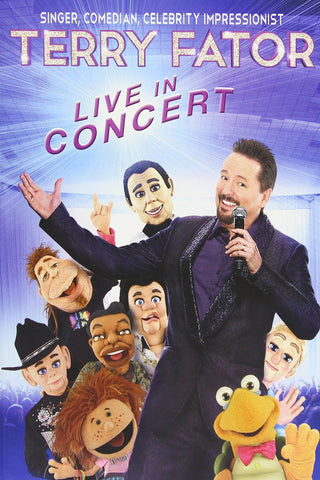 Terry Fator Live in Concert - DVD