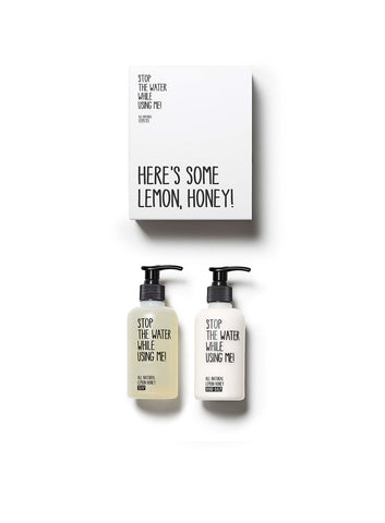 ALL NATURAL LEMON HONEY HAND KIT