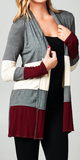 Dipped In Wine Cardigan