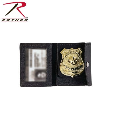 Leather Badge & ID Holder