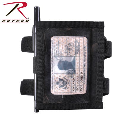 Military Style Armband ID Holder