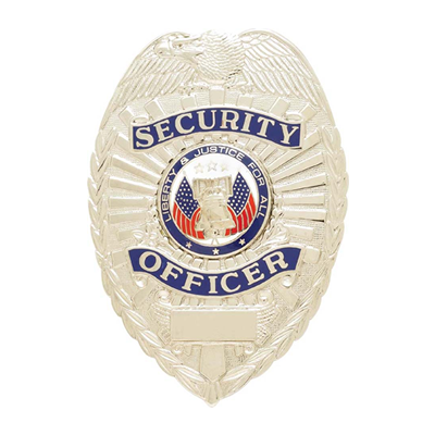 Security Officer Badge, Shield