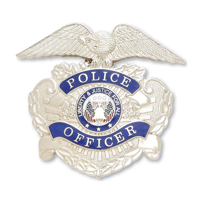 Police Officer Hat Badge