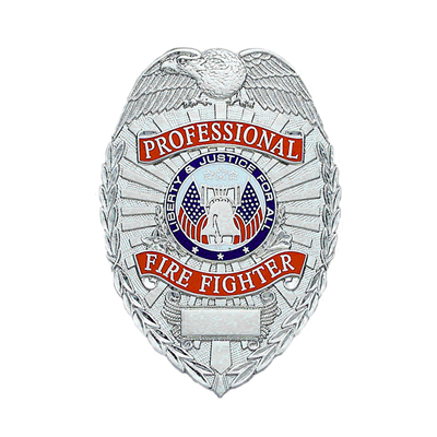 Professional Firefighter Badge