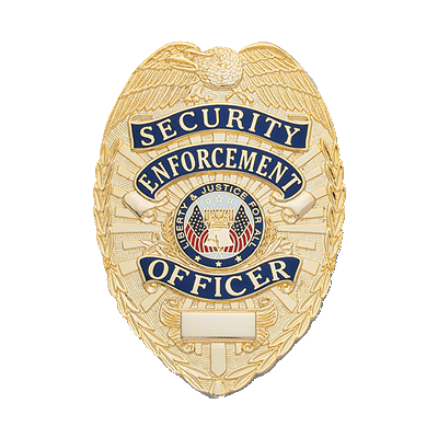 Security Enforcement Officer Badge, Shield
