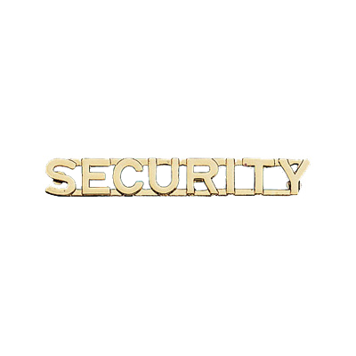 Security Collar Brass
