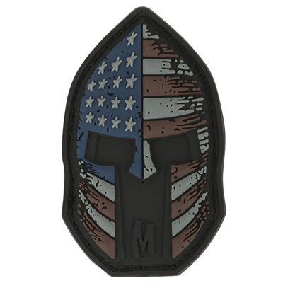 Stars and Stripes Spartan Patch