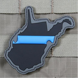 State Thin Blue Line Patch