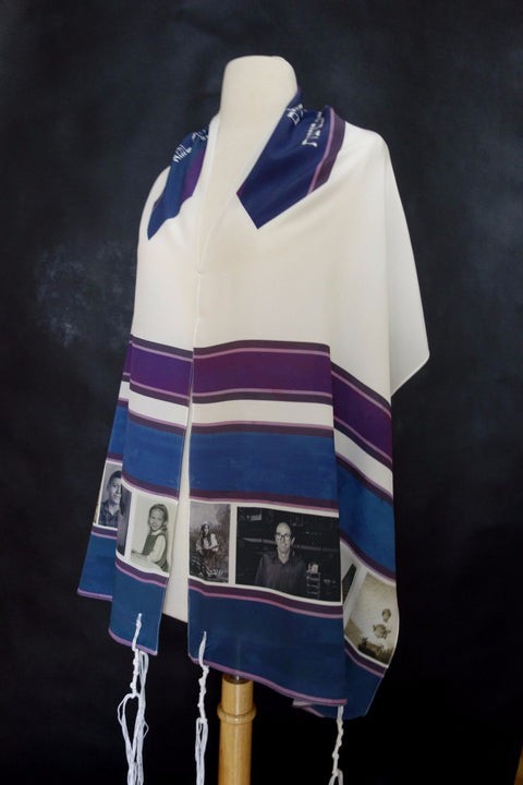 Custom Photo Tallit