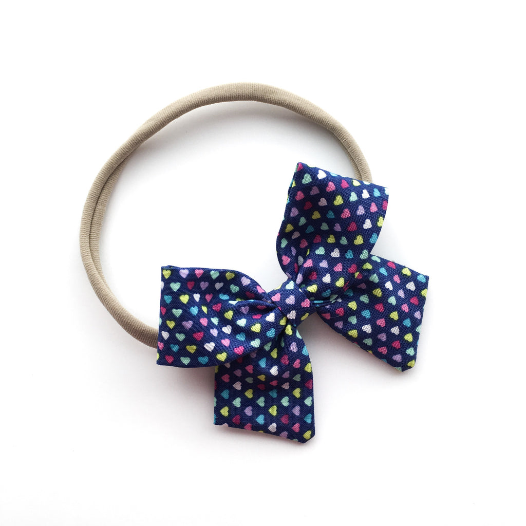 "Playful Hearts ""Ellie"" Bow"