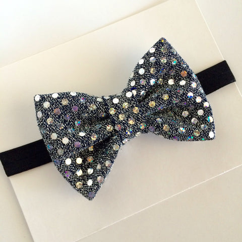 Disco Ball Bow