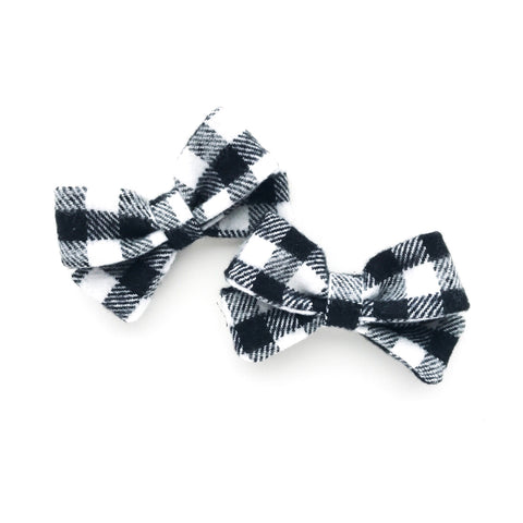 Gingham Piggy Bows