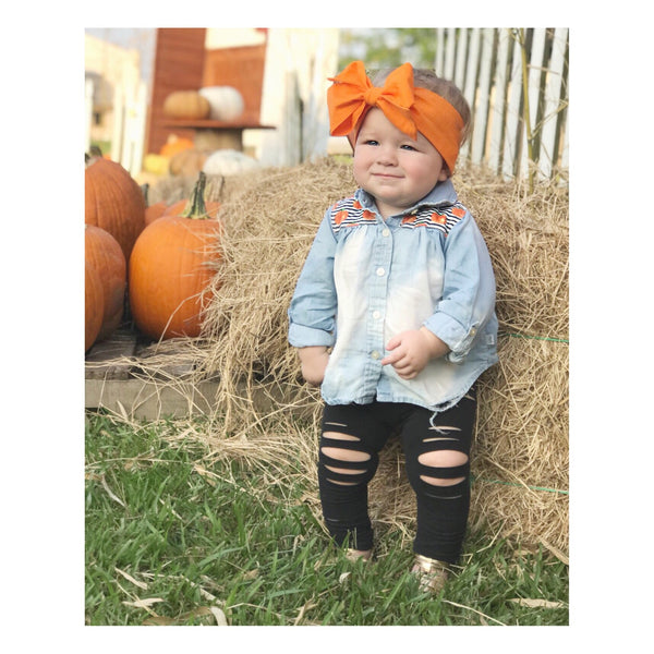 Pumpkin Head Wrap