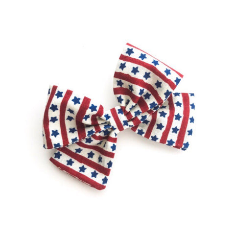 "Stars and Stripes ""Ellie"" Bow"