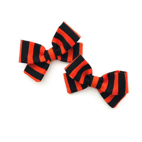 Black and Orange Stripes