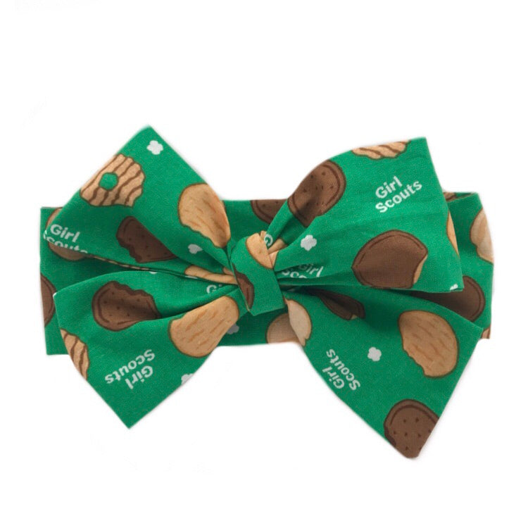 Girl Scout Cookies Head Wrap
