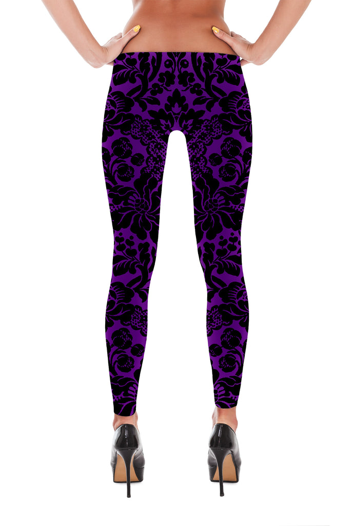 Vintage Grape - Leggings