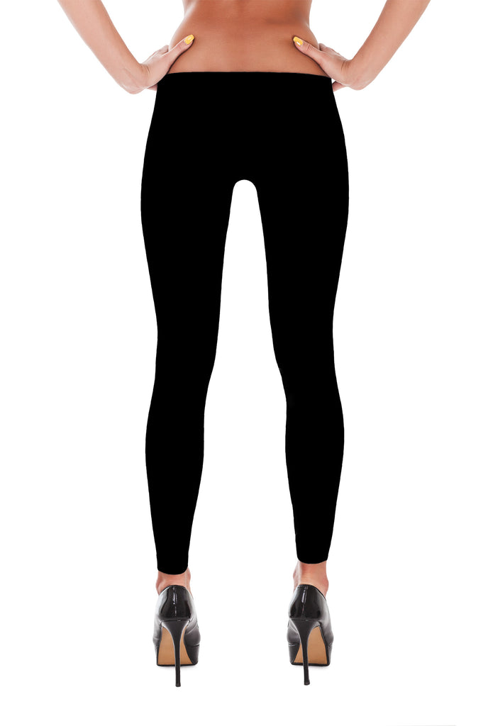 Jet Black - Leggings