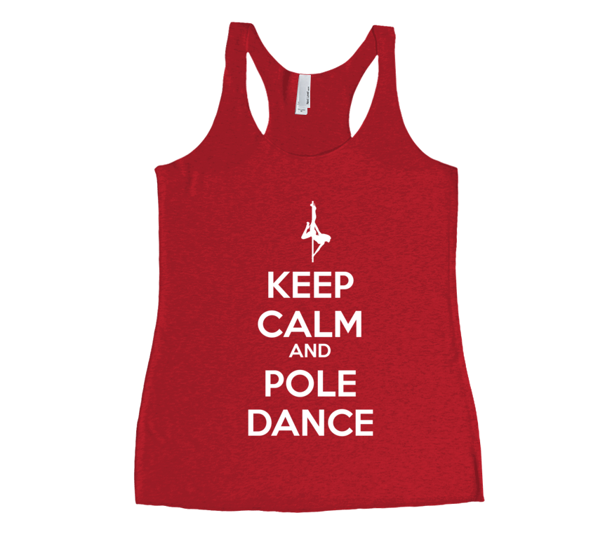 Keep Calm and Pole Dance - Womens Tank