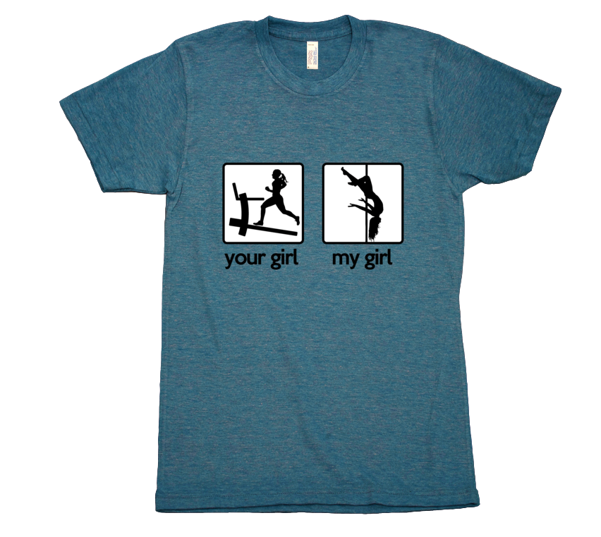 Your Girl vs My Girl - Mens T-Shirt