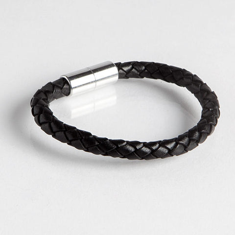 Magnetic Leather Bracelet