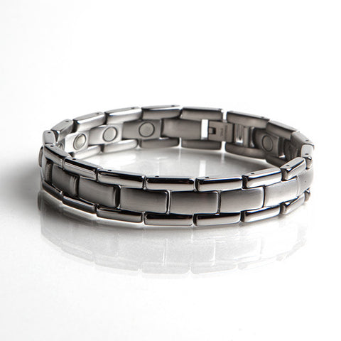 Magnetic Stainless Steel Bracelet (L43)