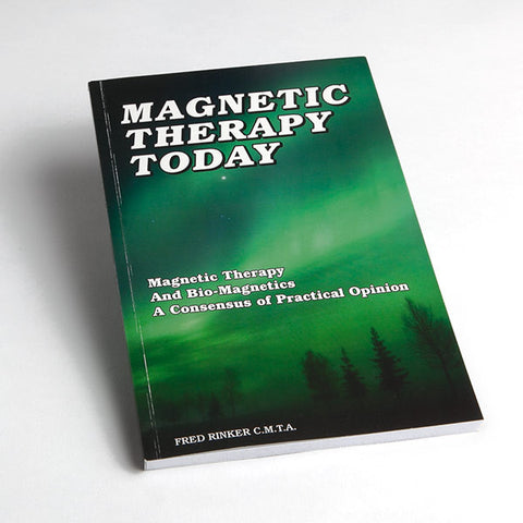 Magnetic therapy book for pain relief