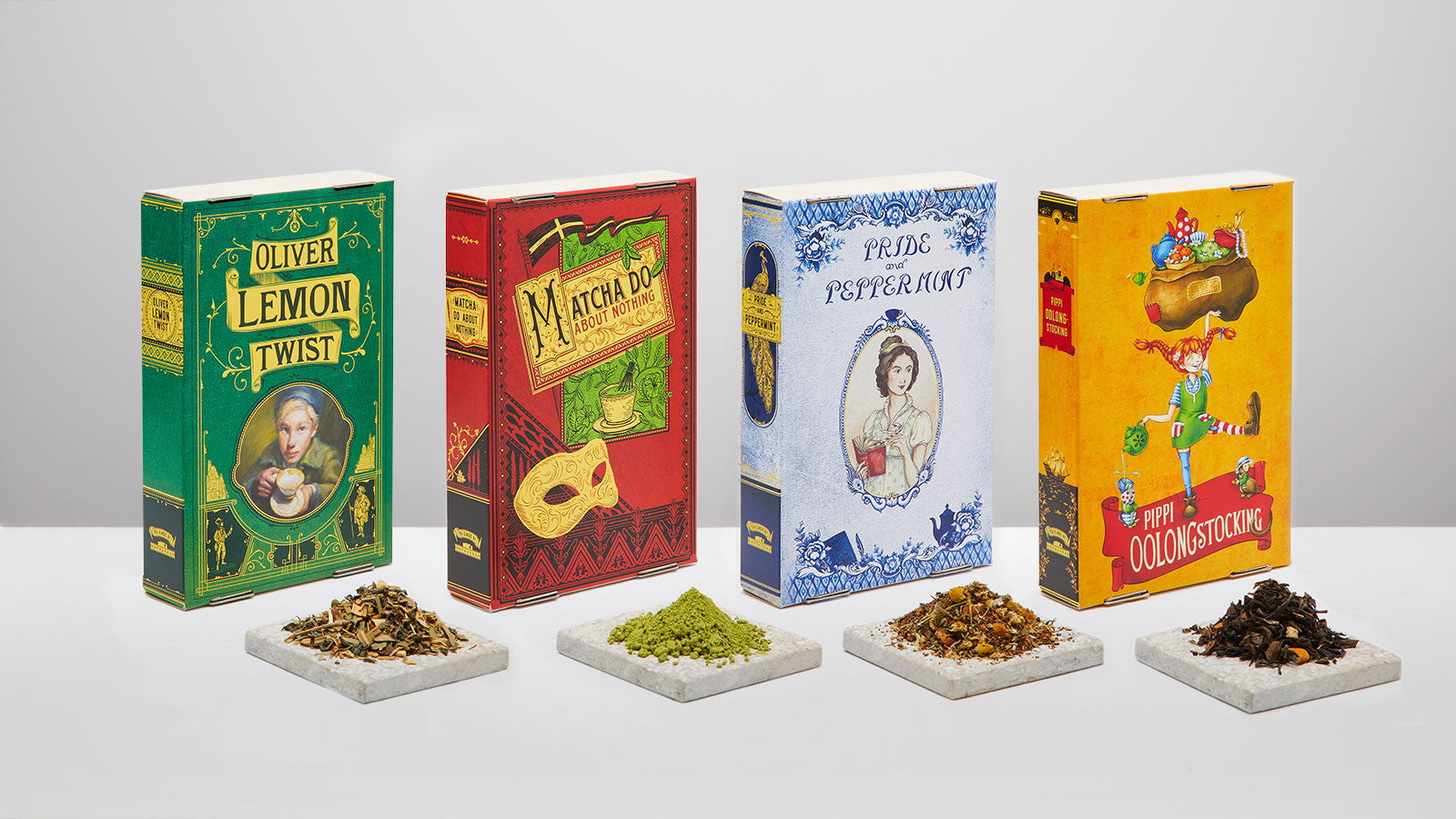 Punny Tea Packaging for book lovers
