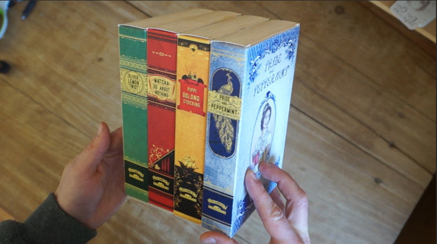 Novelteas Cartons Complete British Collection
