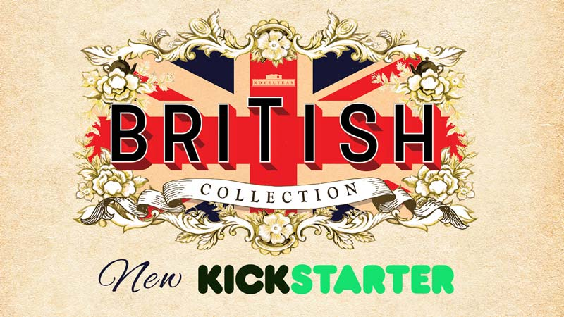 British Collection Kickstarter by NovelTea Tins