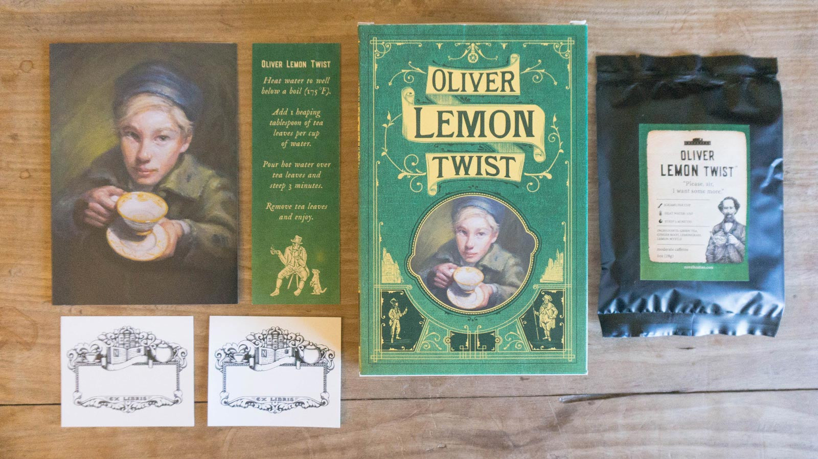 Oliver Lemon Twist carton