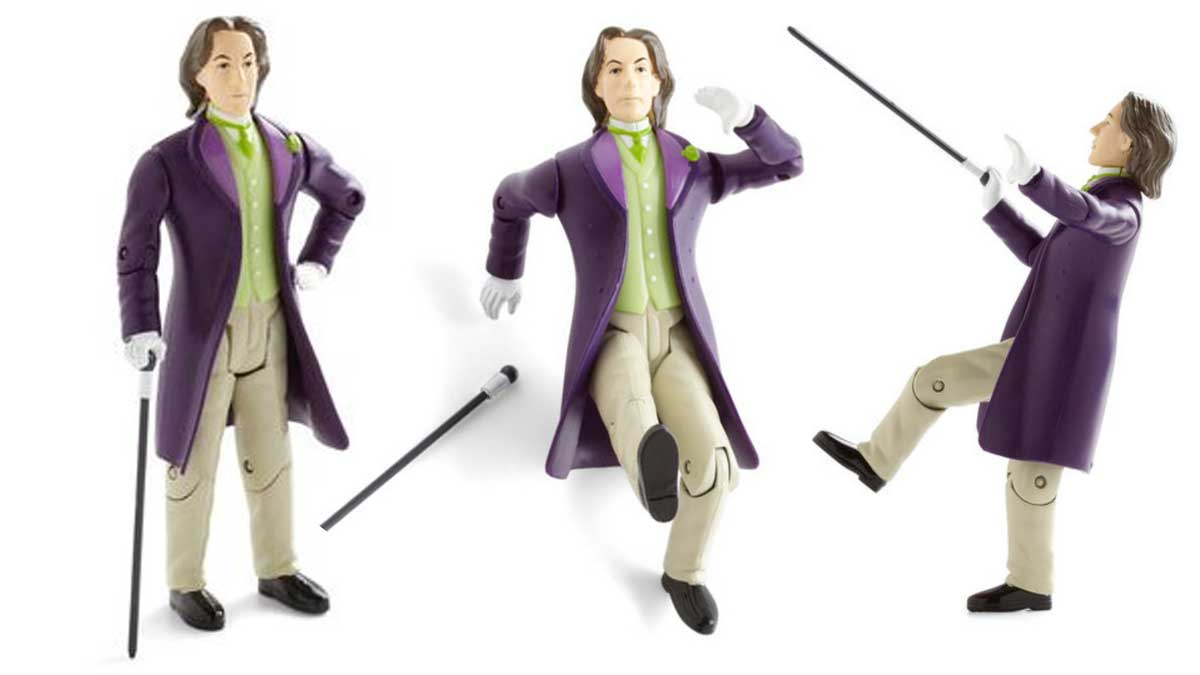 Oscar Wilde Author Toy Action Figure