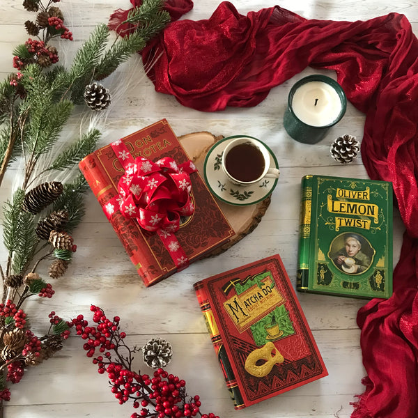 Christmas Bookish Gift Idea NovelTea Tins