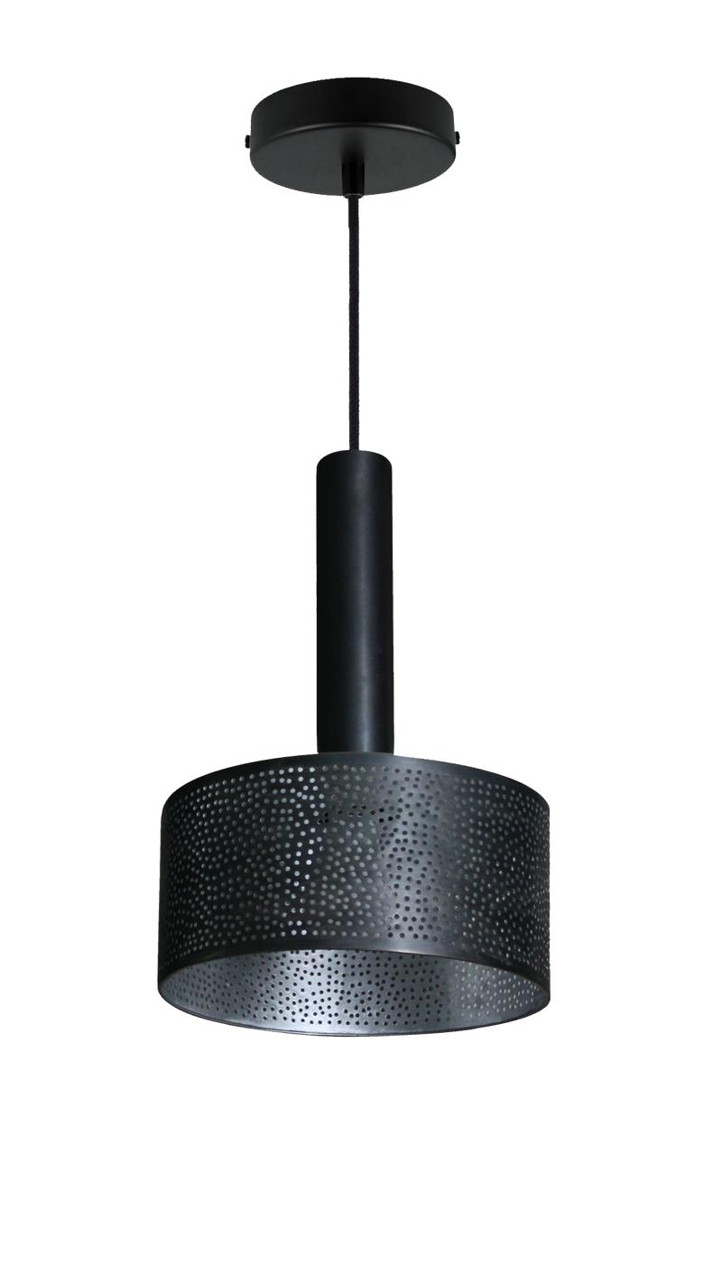 "Alula Pendant Light Gunmetal 10""x 15"" - SAMPLE"
