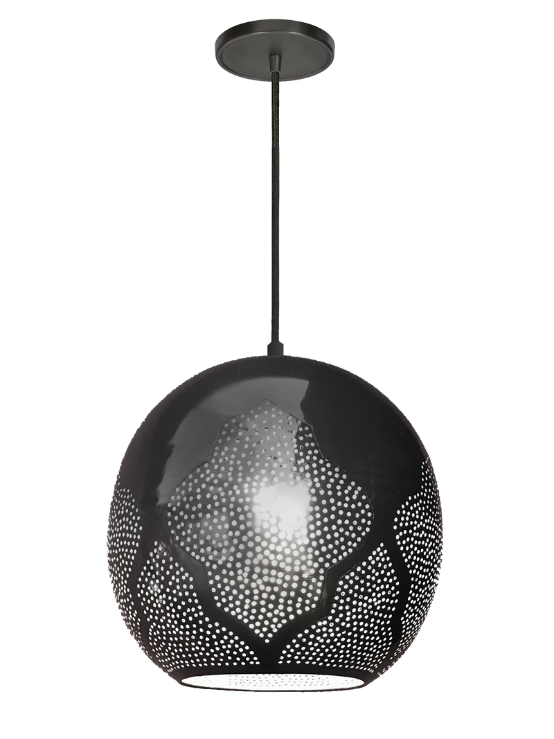 "Najma R Pendant Light 10"" x 9""- SAMPLE"