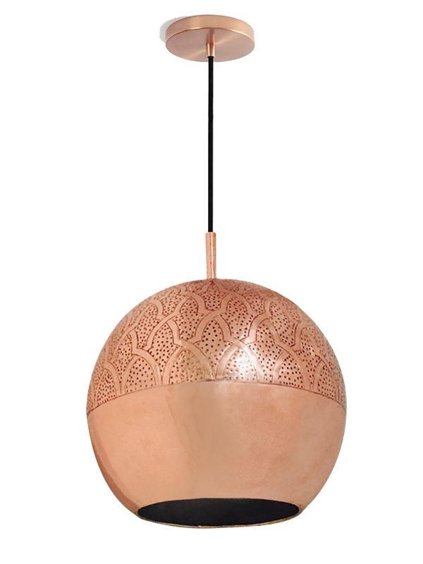 Dounia Home Nur Pendant Light copper
