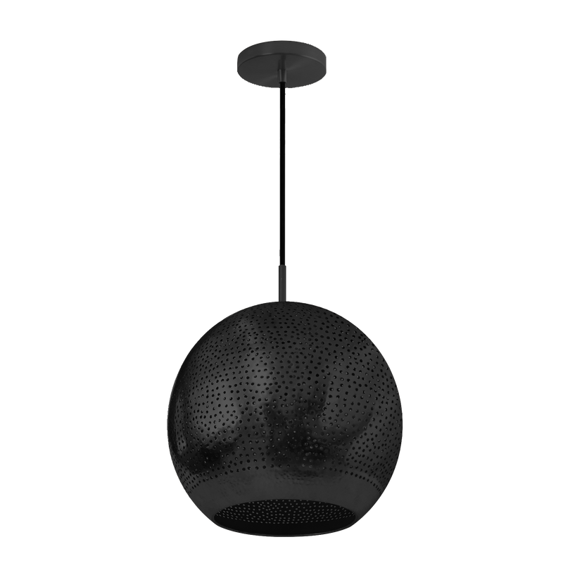 "Shams Pendant Light 6"" Gunmetal - SAMPLE"