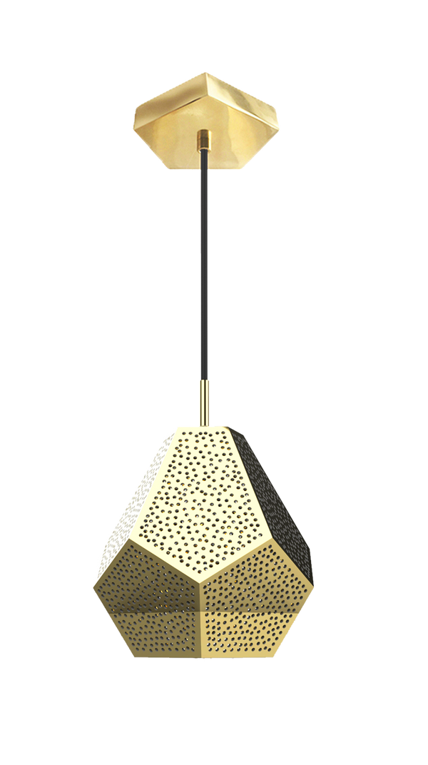 "Almas Pendant Light 11""x13""- SAMPLE"