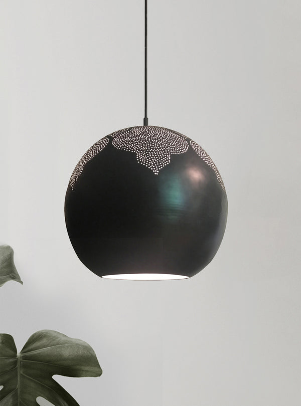 najma pendant light by dounia home in gunmetal