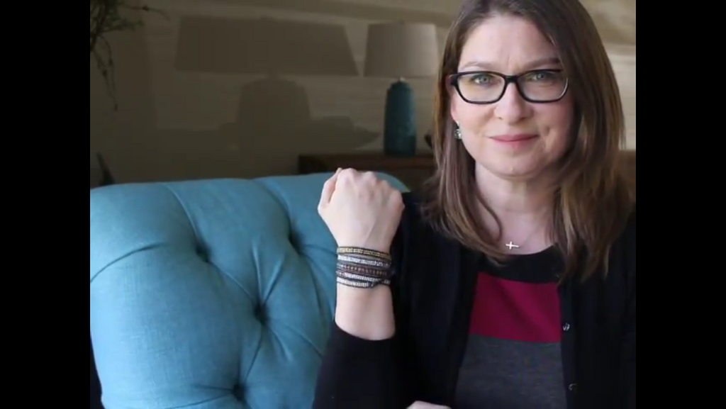 Instructional Video:  How to put on a wrap bracelet